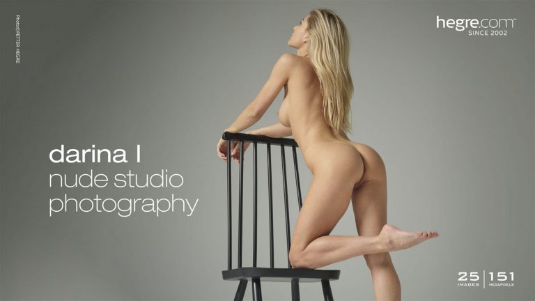 Darina L in Nude Studio Photography