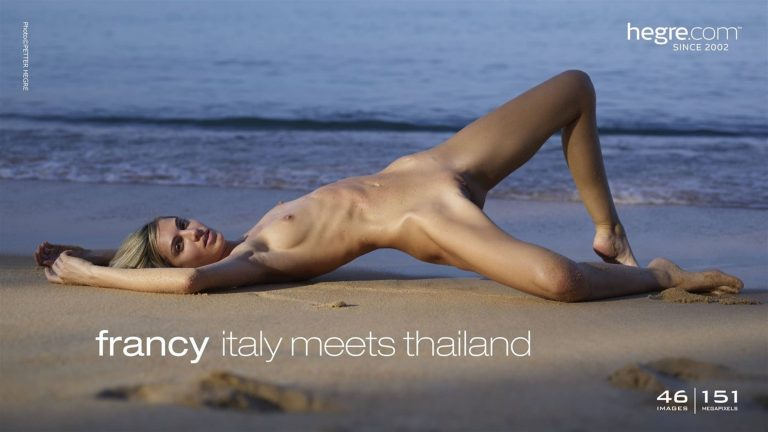 Francy in Italy meets Thailand